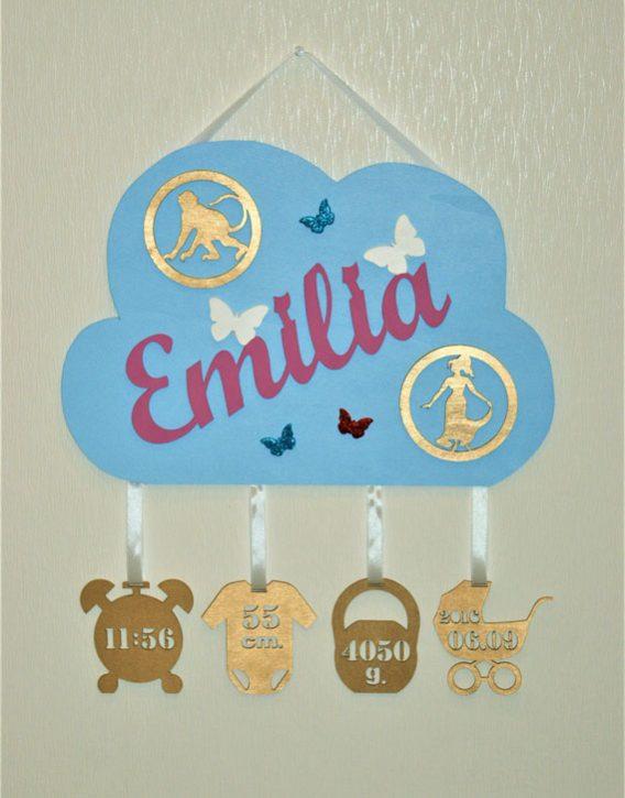 """Geburtslegende"" Wolke Emilia"