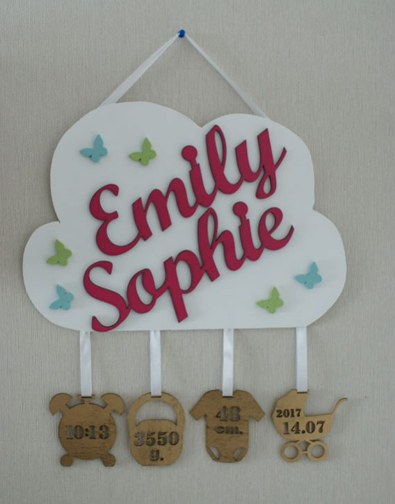 """""""Geburtslegende"""" Wolke Emily Sophie"""