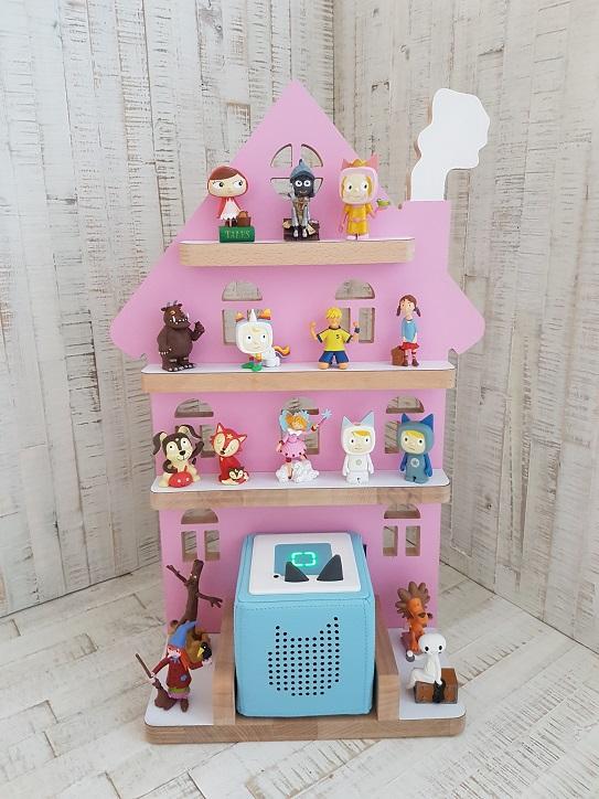 Tonie Regal Haus rosa 1