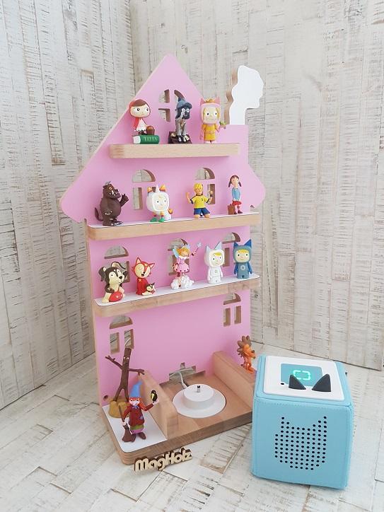 Tonie Regal Haus rosa 2