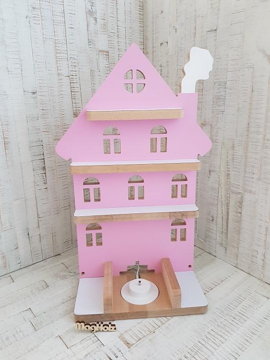 Tonie Regal Haus rosa 4